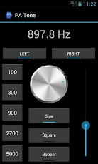 Audio Visual Environments - Test Tone Generator for iPhone / iPad